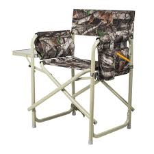 Picnic Time Camouflage Outdoor Directors Folding Chair