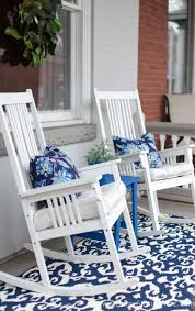 Spring Porch Decorating Ideas | Bloggers' Best DIY Ideas | Pinterest ... Decorating Pink Rocking Chair Cushions Outdoor Seat Covers Wicker Empty Decoration In Patio Deck Vintage 60 Awesome Farmhouse Porch Rocking Chairs Decoration 16 Decorations Wonderful Design Of Lowes Sets For Cozy Awesome Farmhouse Porch Chairs Home Amazoncom Peach Tree Garden Rockier Smart And Creative Front Ideas Amazi Island Diy Decks Small Table Lawn Beautiful Cheap Best Beige Folding Foldable Rocker Armrest