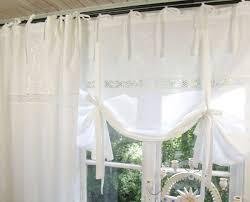 verspielte raff gardine lillabelle emilia weiß