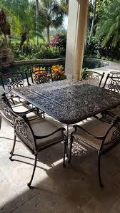Cast Aluminum Outdoor Sets by Cast Aluminum Outdoor Set In Estero U2014 Leisure Furniture U0026 Powder