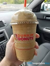 Pumpkin Iced Coffee Dunkin Donuts by Review Dunkin U0027 Donuts Frozen Coffee The Impulsive Buy