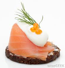 what does canape what are appetizers with pictures