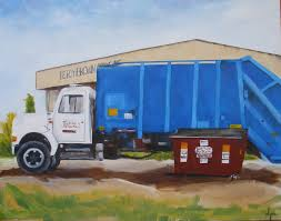 Kay Wyne Fine Art Blog: Garbage Truck & Dumpster - Commission - SOLD Custom Paint On Truck Vehicles Contractor Talk Colorful Indian Truck Pating On Happy Diwali Card For Festival Large Truck Pating By Tom Brown Original Art By Tom The Old Blue Farm Pating Photograph Edward Fielding Randy Saffle In The Field Plein Air Adventures My Part 1 Buildings Are Cool Semi All Pro Body Shop Us Forest Service Tribute Only 450 Myrideismecom Tim Judge Oil Autos Pinterest Rawalpindi March 22 An Artist A