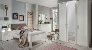 elegante schlafzimmerserie in alpinweiß für senioren castelli