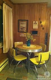 Kitchen Retro Kitchen Table Also Voguish Retro Kitchen Table