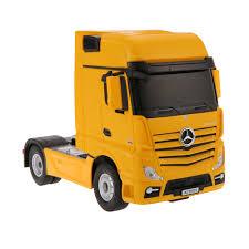 100 26 Truck Yellow RASTAR 74920 24G 1 MercedesBenz Actros Trailer