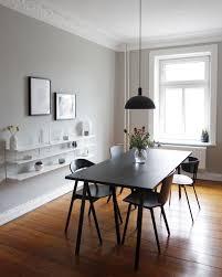 minimalistische altbauwohnung in hamburg wohn esszimmer