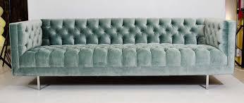 Ava Velvet Tufted Sleeper Sofa Canada by Light Gray Velvet Tufted Sofa Midnight Blue Toronto U2013 Glorema Com