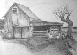 Easy Landscape Drawing For Beginners Drawings