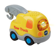 VTech Go! Go! Smart Wheels Learning Vehicle - Tow Truck - Toys