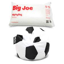 Amazon.com: Big Joe Sports Bean Bag Chair In Soccer Ball ... Bean Bag Factory Soccer Chair Cover Stuffed Animal Storage Seat Plush Toys Home Organizer Beanbag Amazoncom Ball Sports Kitchen Kids Comfort Cubed Teen Adult Ultra Snug Fresco Misc Blue Gold Nfl Los Angeles Rams Pretty Elementary Age Little Girl On Sports Day Balancing Cotton Evolve Faux Suede Gax Sport Large Small Classic Chairs Sofa Snuggle Outdoor And Indoor Big Joe In Sportsball