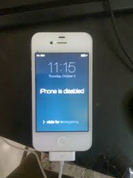 iPhone is disabled how to enable a disabled iPhone Without iTunes