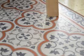 PVC Vinyl Mat Tiles Pattern Decorative Linoleum Rug Orange And Gray 179 FREE Shipping