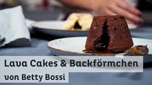 lava cakes buch backförmchen kombi