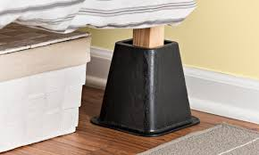 Heavy Duty Bed Risers by How To Use Bed Frame Risers Overstock Com