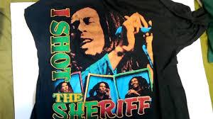 Vintage Bob Marley Rap Style Tee