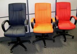 Extravagant and stylish office furniture solution orange office
