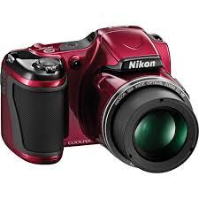 Nikon COOLPIX L820 Digital Camera Red B&H Video