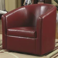Coaster Accent Seating 902099 Contemporary Styled Accent Swivel ... Coaster Fine Fniture 902191 Accent Chair Lowes Canada Seating 902535 Contemporary In Linen Vinyl Black Austins Depot Dark Brown 900234 With Faux Sheepskin Living Room 300173 Aw Redwood Swivel Leopard Pattern Stargate Cinema W Nailhead Trimming 903384 Glam Scroll Armrests Highback Round Wood Feet Chairs 503253 Traditional Cottage Styled 9047 Factory Direct