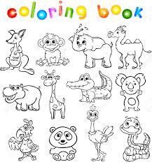 Conjunto De Animales Salvajes Tercero Para Los Niños Libro De