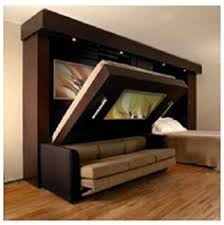 functional murphy bed design by Inova 400—404