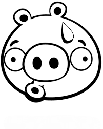 Click To See Printable Version Of Discouraged Minion Pig Coloring Page Categories Angry Birds