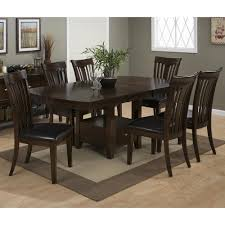 100 Birch Dining Chairs Mirandela Counter Height 7 Piece Set With Contoured