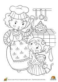 coloriage cuisine coloriage princesse cuisine sur hugolescargot com