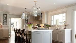 kitchen island gray cabinets white marble ideas