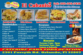 El Cubanito Food Truck Menu, Menu For El Cubanito Food Truck, East ... The Mayan Grill Food Truck And Windmere Family Night Revolution Is Being Held Back By Unnecessary Regulation Truck Wraps That Are Designed For Your Success Trucks Can You Get An Orlando Auto Glass Repair Bazaar In Dtown Avalon Park Ice Twister Presents Cream Make Your Own Red Eye Bbq Food Orlandos Premier On Wheels Philly Cnection Christens Prestige As Exclusive My Picks Some Of The Best Central Florida Kellys Homemade Roaming Hunger Best Arepas Mejores De Absofruitly