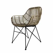 design geflecht stuhl aus rattan ivonata