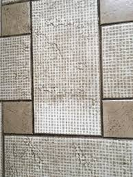 Grouted Vinyl Tile Pros Cons by Cleaning How To Clean Vinyl Floor Tile Not Cleaned In 25 Years