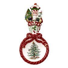 Spode Christmas Tree Peppermint Figural Nutcracker Spoon Rest Amazon
