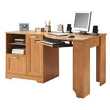 realspace magellan collection corner desk honey maple by office