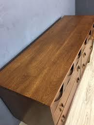 Brasilia Broyhill Premier Dresser by Broyhill Brasilia Lowboy Bureau Retrocraft Design Collection