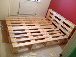 How To Make A Platform Bed From Wooden Pallets by Queen Bed Frame Pallets Frame Decorations