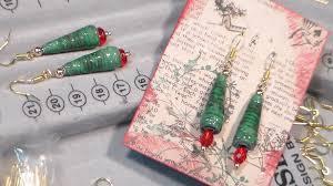 Christmas Tree Waterer 2 Liter Bottle by Paper Bead Xmas Tree Earrings Youtube