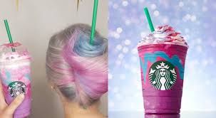 Starbucks Unicorn Frappuccino Hair Gets Transformed Into Style