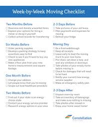 100 Packing A Moving Truck WeekbyWeek Checklist Best Tips For And