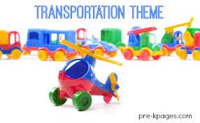 Transportation Theme Activities For Preschool And Kindergarten