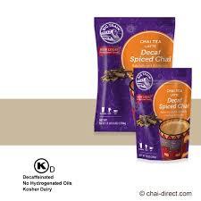 Decaf Pumpkin Spice Latte K Cups by Big Train Chai Spiced Decaf Chai Latte Dry Mix
