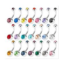 Body Jewelry | Amazon.com Buy Baby Jogger Double Belly Bar Buggybaby Rings Piercing Jewelry Claires Us Tiniest Anchor Rook Eyebrow 16g 16 G Gauge 14g38 Skull Button Navel Ring Body Double Navel Top And Bottom Of Piercing With Two Pie Flickr Quality Unique Belly Button Rings Body Jewelry Nose Pregnancy Retainer Bocandy Basics For Piercings 316l Steel Best 25 Ideas On Pinterest