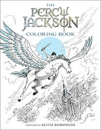 Percy Jackson And The Olympians Coloring Book Rick Riordan Keith Robinson 9781484787793 Amazon
