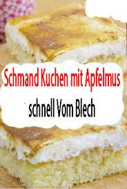 frischer kuchen mit apfelmus und schmand rezepte