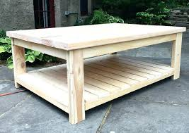 Diy Reclaimed Wood Table Top by Homemade Wood Coffee Table U2013 Thelt Co
