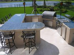 L Shaped Outdoor Kitchen Designs Presented To Your House