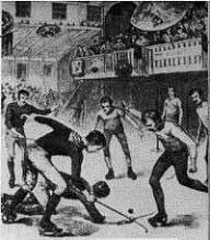 historique du rink hockey