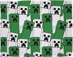minecraft offizielles fleecedecke creeper design weiche decke perfekt für jedes schlafzimmer