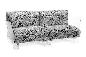 100 Missoni Sofa Pop 2 Seat Transparent Frame