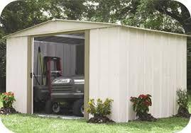 arrow 8x6 salem metal garden storage shed kit sa86